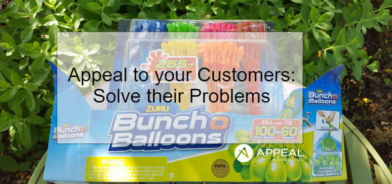 Appeal to your Customers Solve their problems blog post