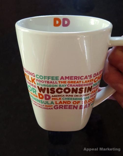 Dunkin Donuts Wisconsin Mug