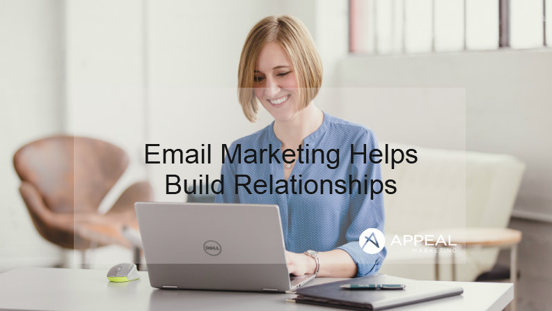 Cathy Olig of Appeal Marketing works on Email Marketing