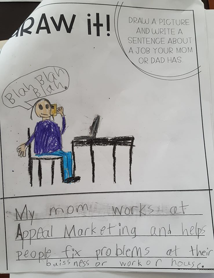 An 8 year olds view of Appeal Marketing