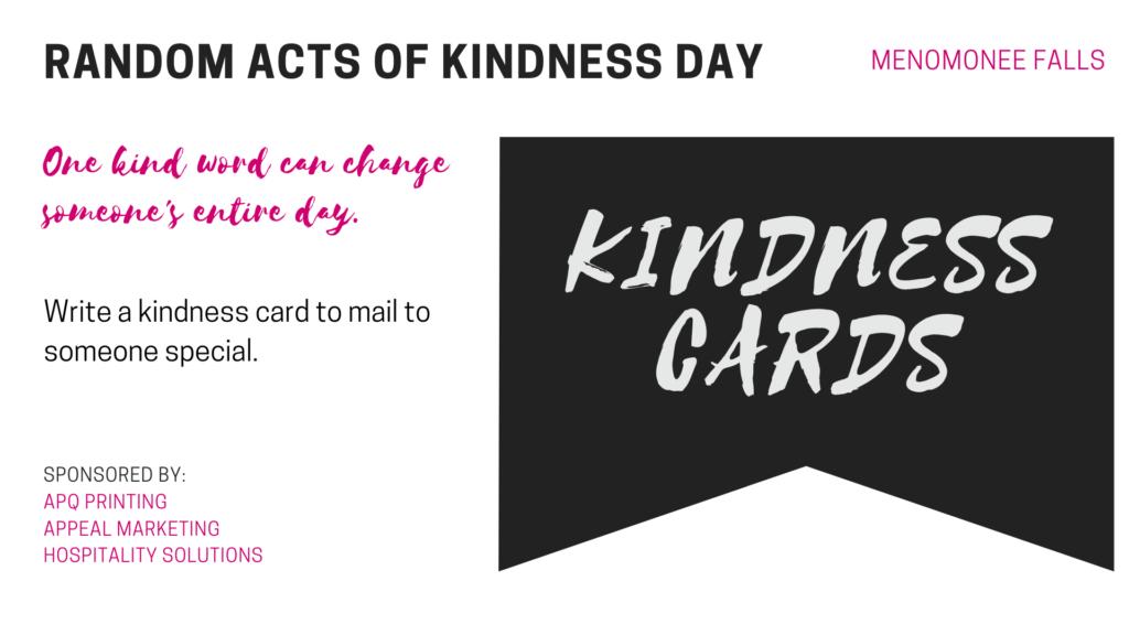 Kindness Card Station description