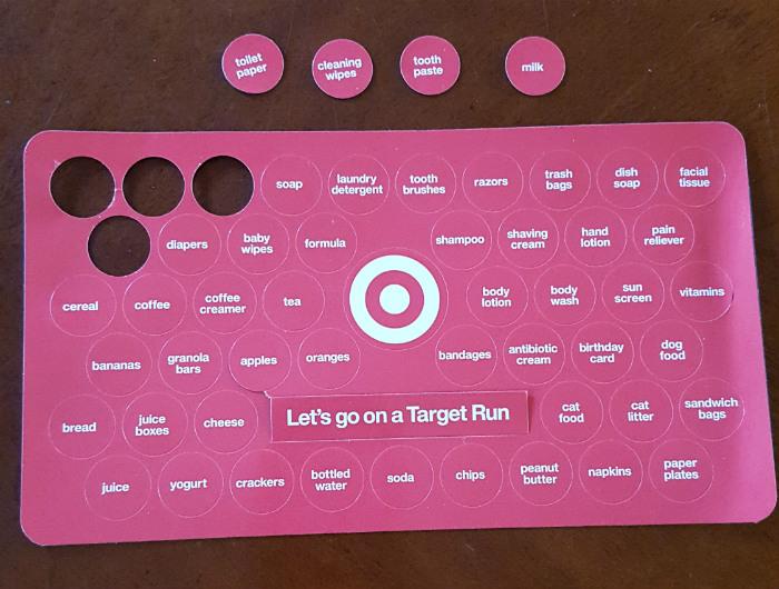 Target Run magnets