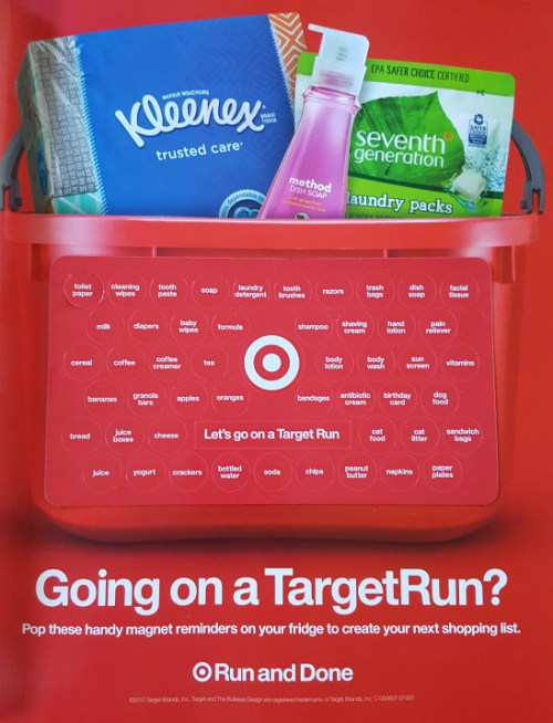 Going on a Target Run? ad