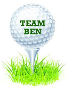 Team Ben Golf Logo
